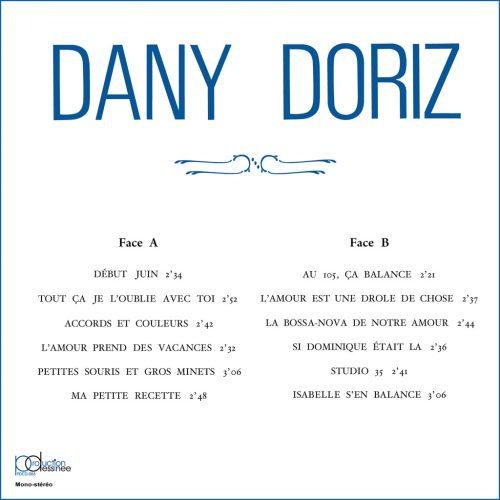 PDCD-053 Dany Doriz Son Vibraphone et sa Grande Formation – Dany Doriz