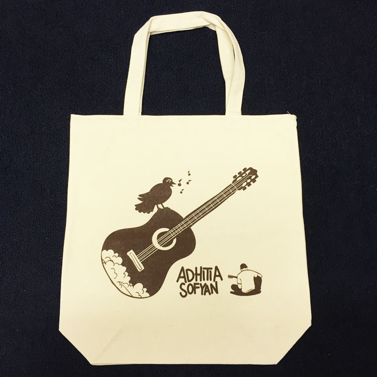 Adhitia Sofyan Japan Tour 2016 Tote