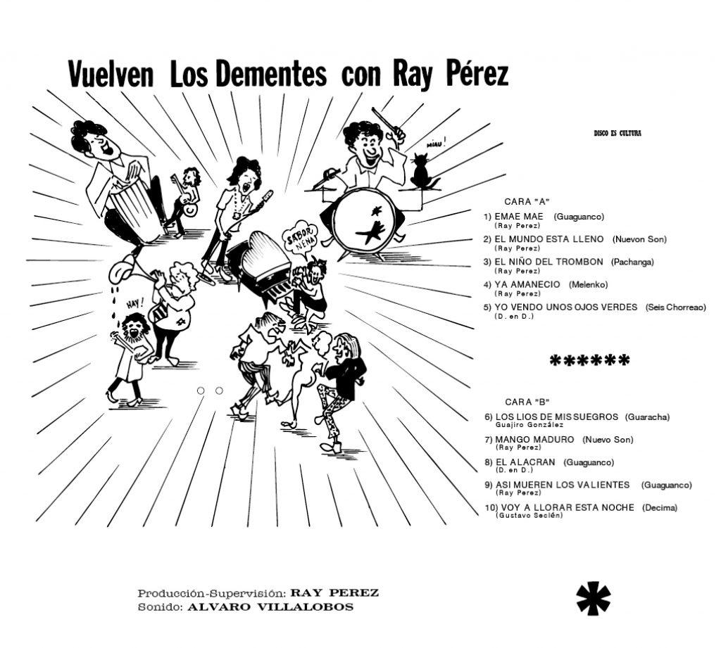 Los Dementes Con Ray Perez (レイ・ペレスとロス・デメンテス) - Phidias [Presenta A Ray Perez Y Su Mae Mae / Vuelven Los Dementes Con Ray Perez] (フィディアス [レイ・ペレスと彼のそいつとこいつ/帰ってきたロス・デメンテスとレイ・ペレス]) [PDSF-187]