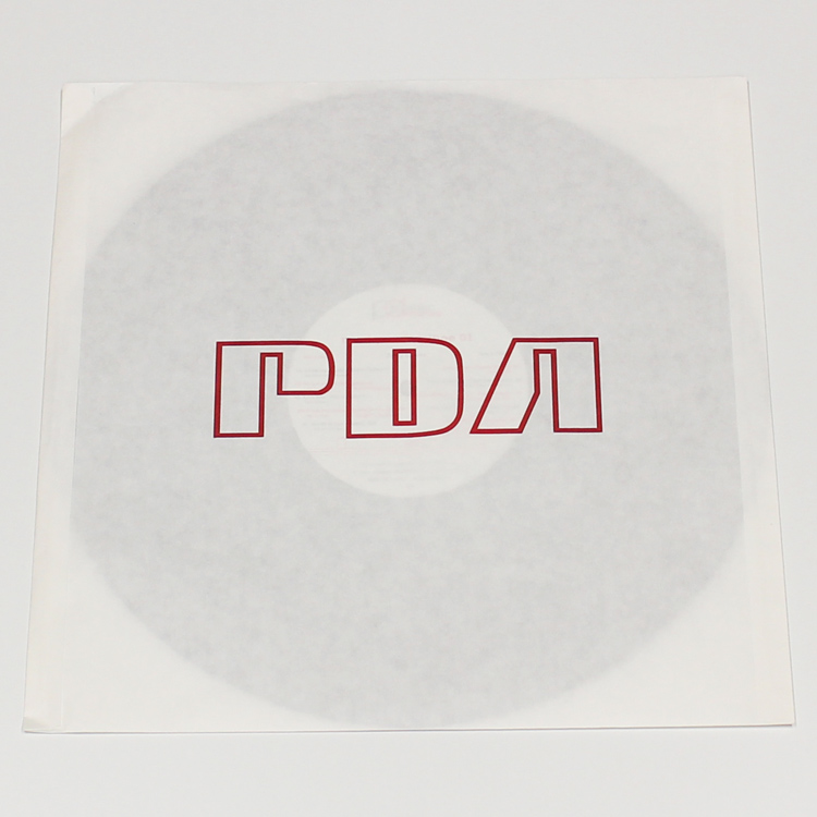 production dessinee (プロダクション・デシネ) - Paper inner sleeves w/Logo for LP (LP用紙製内袋/PDAロゴ入り) [PDAC-017]
