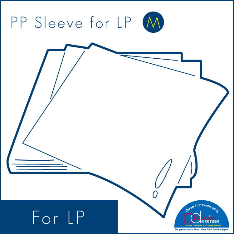 "PDAC-012 production dessinee – PP Sleeve for LP ""M"" 100pcs"
