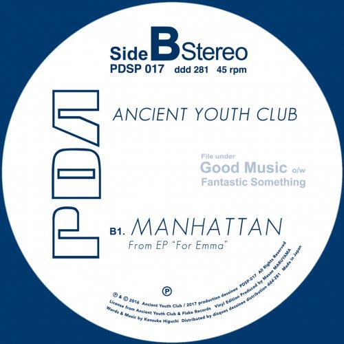 PDSP-017 Ancient Youth Club - Stay c/w Manhattan