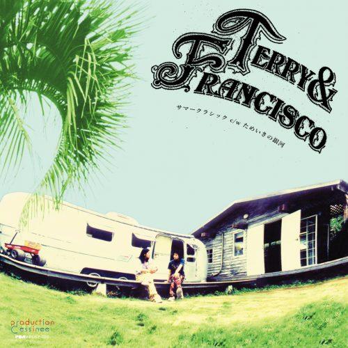 [3/15(木)発売] テリー&フランシスコ (Terry & Francisco) – サマークラシック / ためいきの銀河 (Summer Classic) [PDSP-020]