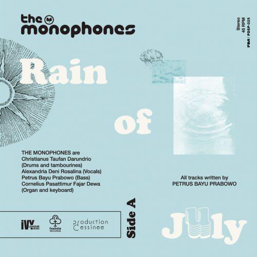 Monophones, The (ザ・モノフォンズ) - Rain Of July c/w A Voyage To The Velvet Sun (7月の雨 / ビロードの太陽への旅路) [PDSP-025]