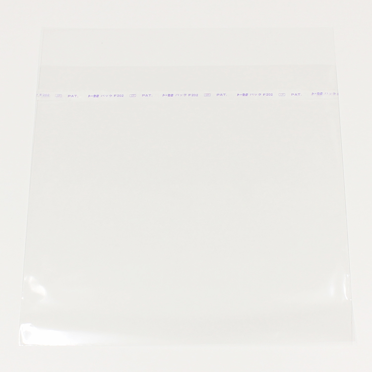 "production dessinee (プロダクション・デシネ) - OPP Sleeve w/Tape for LP ""S"" 100pcs (LP用外袋/テープ付 ジャスト ""Sサイズ"" 100枚セット) [PDAC-015]"
