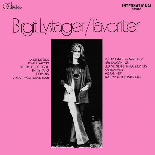 Birgit Lystager (ビアギッテ・ルゥストゥエア) - Favoritter (フェイヴァリッター) [PDCD-076]