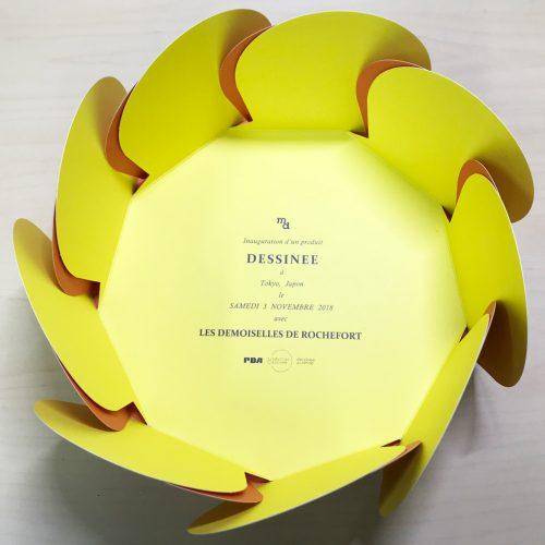 """Inauguration d'un produit DESSINEE avec LES DEMOISELLES DE ROCHEFORT (ロシュフォールの恋人たち 7""""シングル専用ケース) [PDG-058]"""